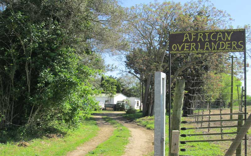 Overlanders, Overlanding Africa, Car Shipping - Storage, Camping Sites in Western Cape